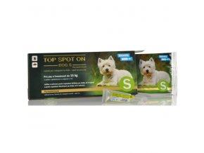 top spot on dog s 1x1ml do 15kg