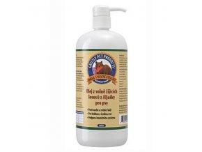 Lososový olej Grizzly Wild Salmon 1000ml