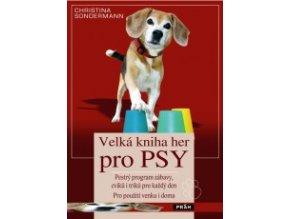 velka kniha her pro psy