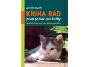 Kniha rad první pomoci pro kočky (česky)