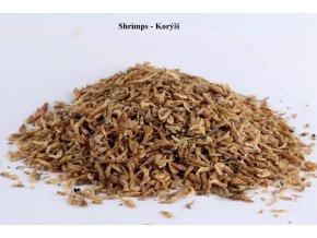 Sušený hmyz - Krevetky