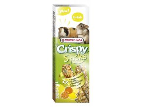 Crispy Sticks Citrus fruit - citrusové ovocie, morča / činčila 110g