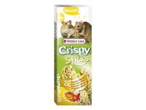 Crispy Sticks Popcorn & honey - kukurica a med, škrečok / potkan 110g