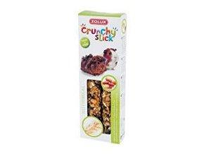 Pochúťka Crunchy STICK arašidy / ovos pre morča