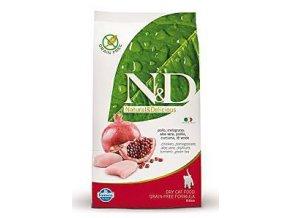 N&D Grain Free Cat KITTEN Chicken & Pomegranate 300g