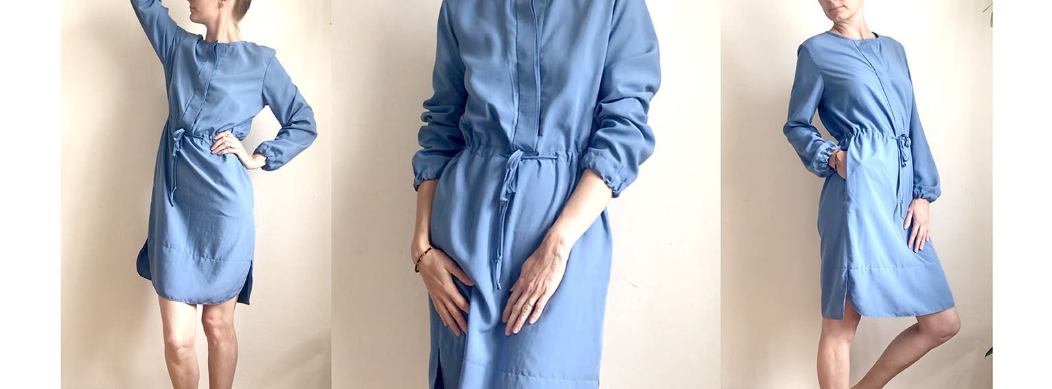 Šaty FARO modré