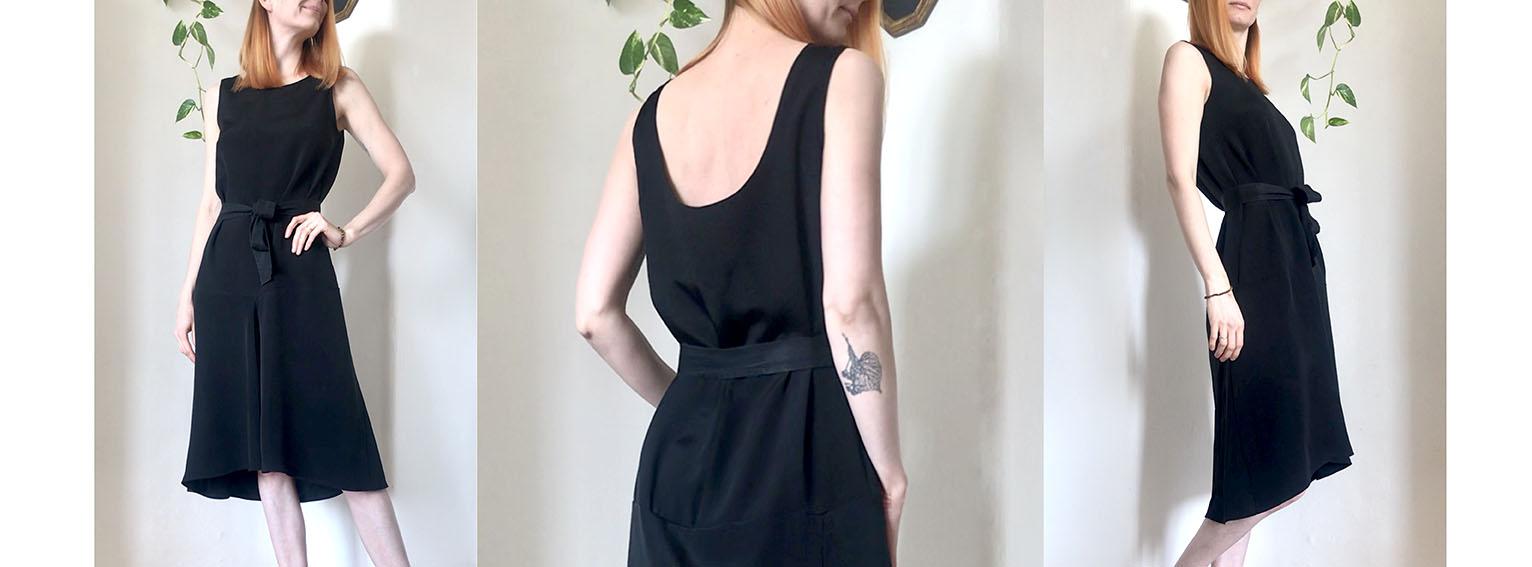 Šaty WAVE černé