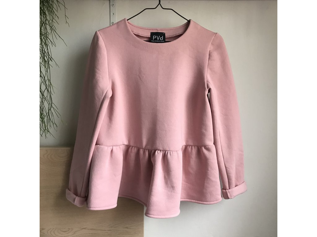 Mikina VOALA růžová