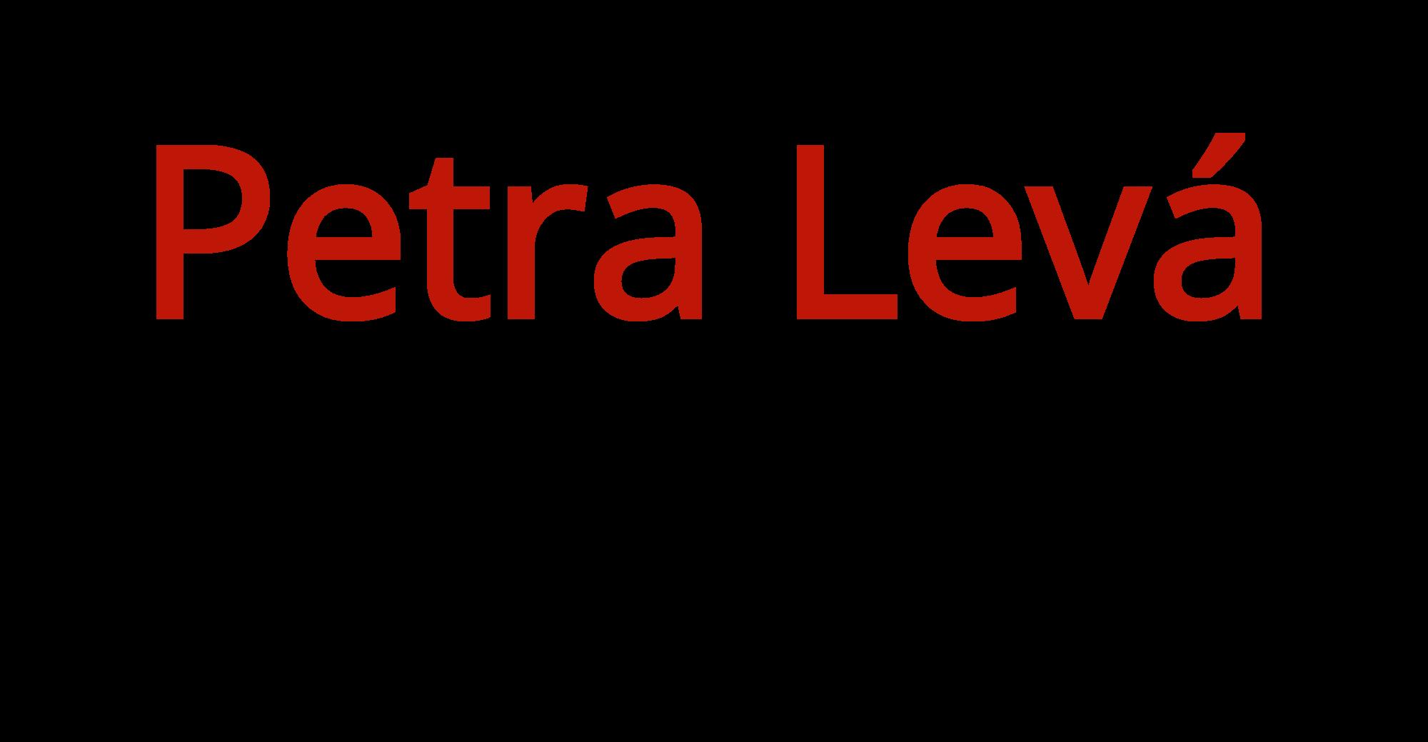 Petra Levá eshop