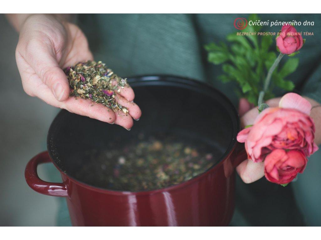 Naparkove hyckani bylinky pro zenskou naparku