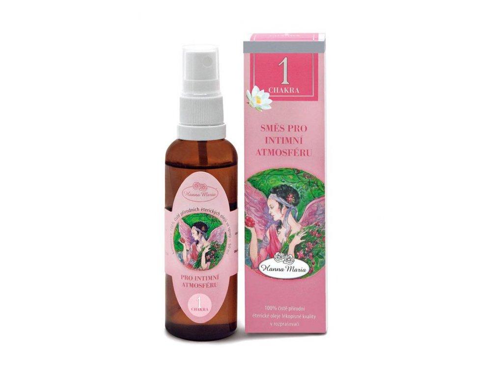 Aromaterapie 1.cakra 50 ml spray rozprasovac