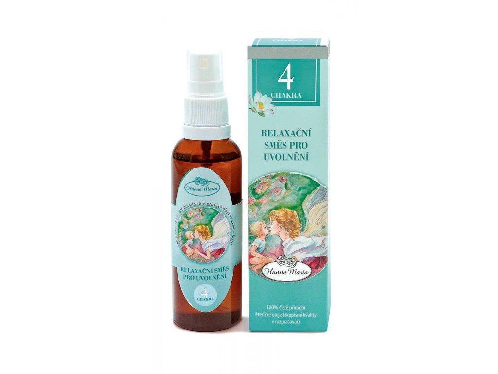 Aromaterapie 4.cakra 50 ml spray rozprasovac