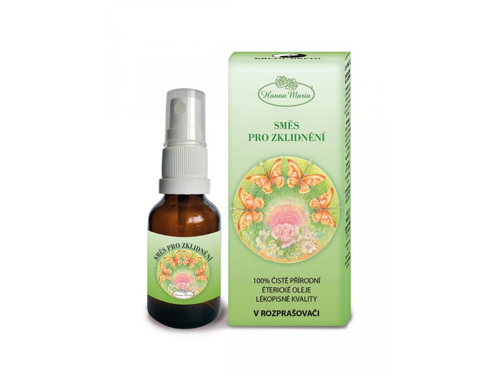 Aromaterapie pro deti Drevo pro zklidneni 25 ml spray rozprasovac