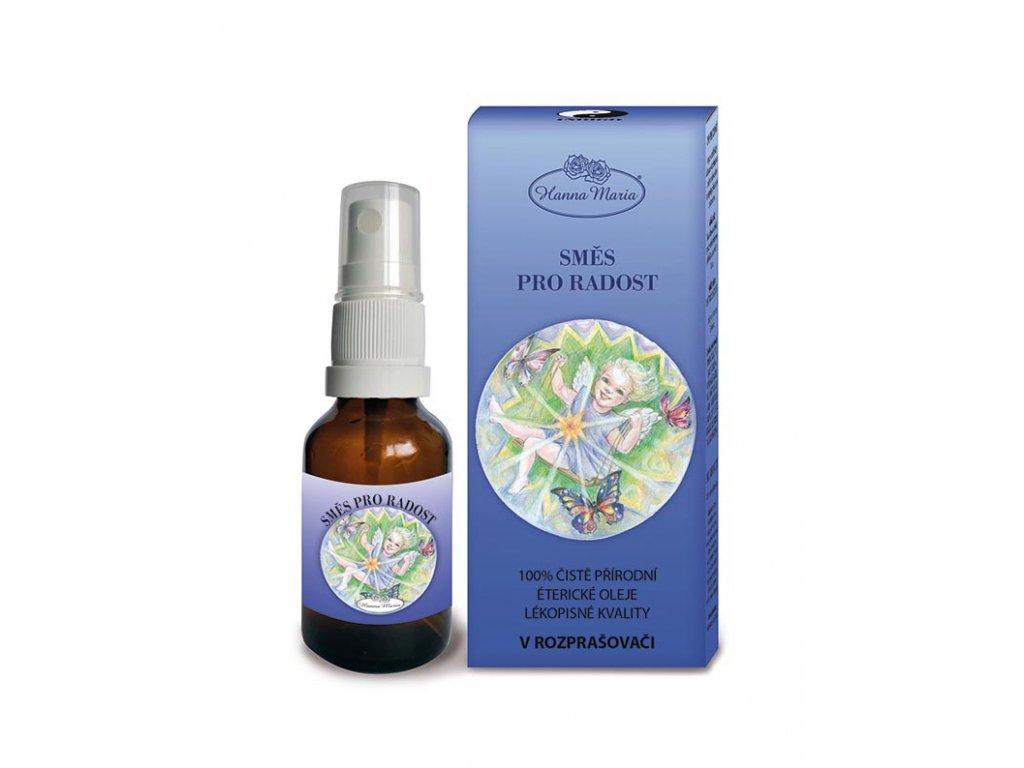 Aromaterapie pro deti Indigo pro radost 25 ml spray rozprasovac