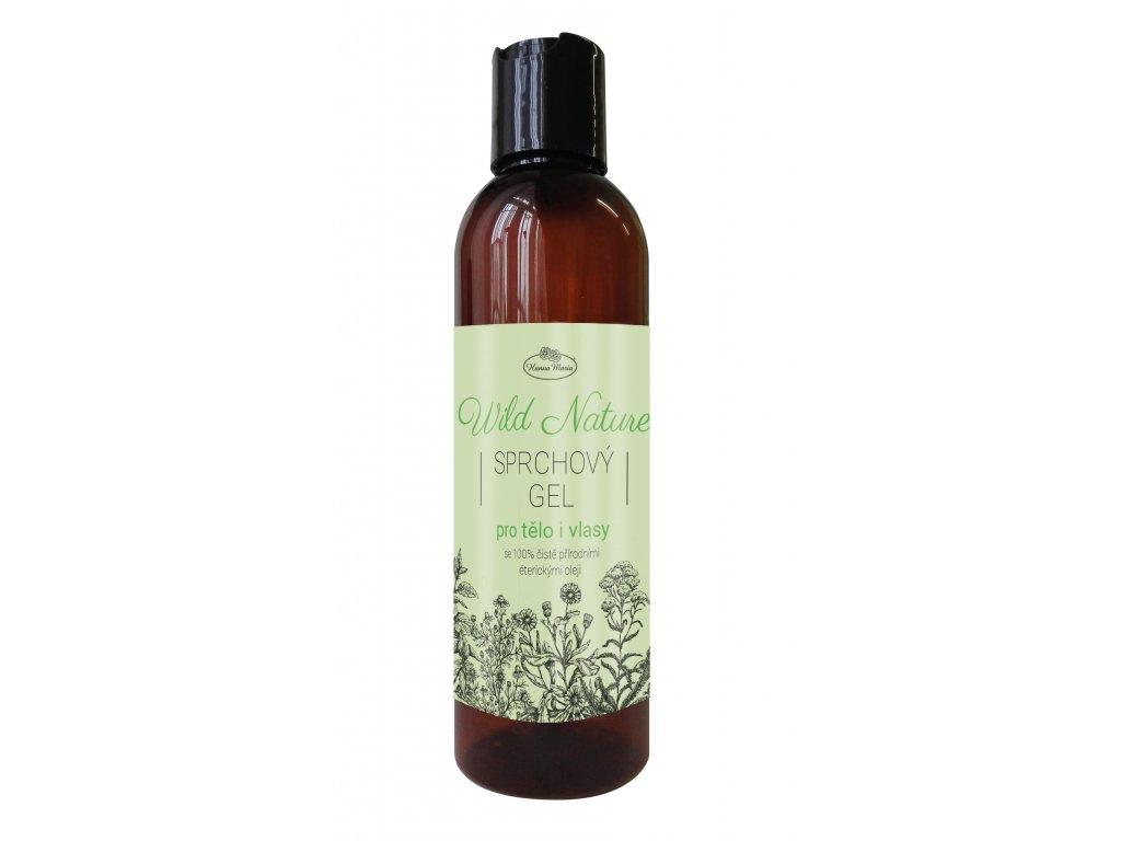 Sprchovy gel 2v1 WILD NATURE 200 ml aromaterapie
