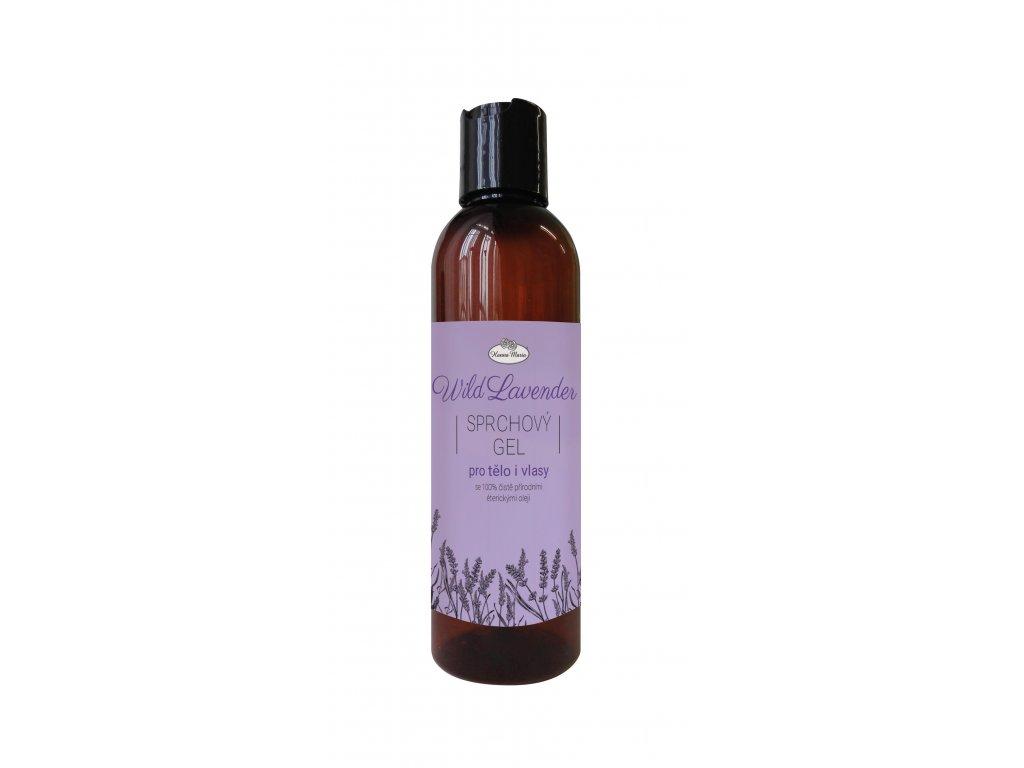 Sprchovy gel 2v1 LAVENDER 200 ml aromaterapie