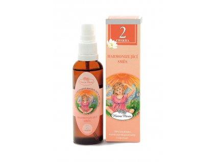 Aromaterapie 2. cakra 50 ml spray rozprasovac