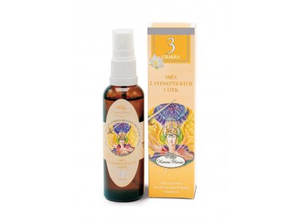 Aromaterapie 3.cakra 50 ml spray rozprasovac