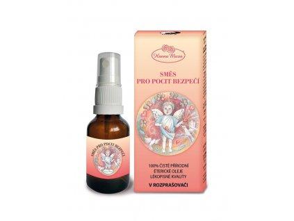 Aromaterapie pro deti Ohen pro pocit bezpeci 25 ml spray rozprasovac