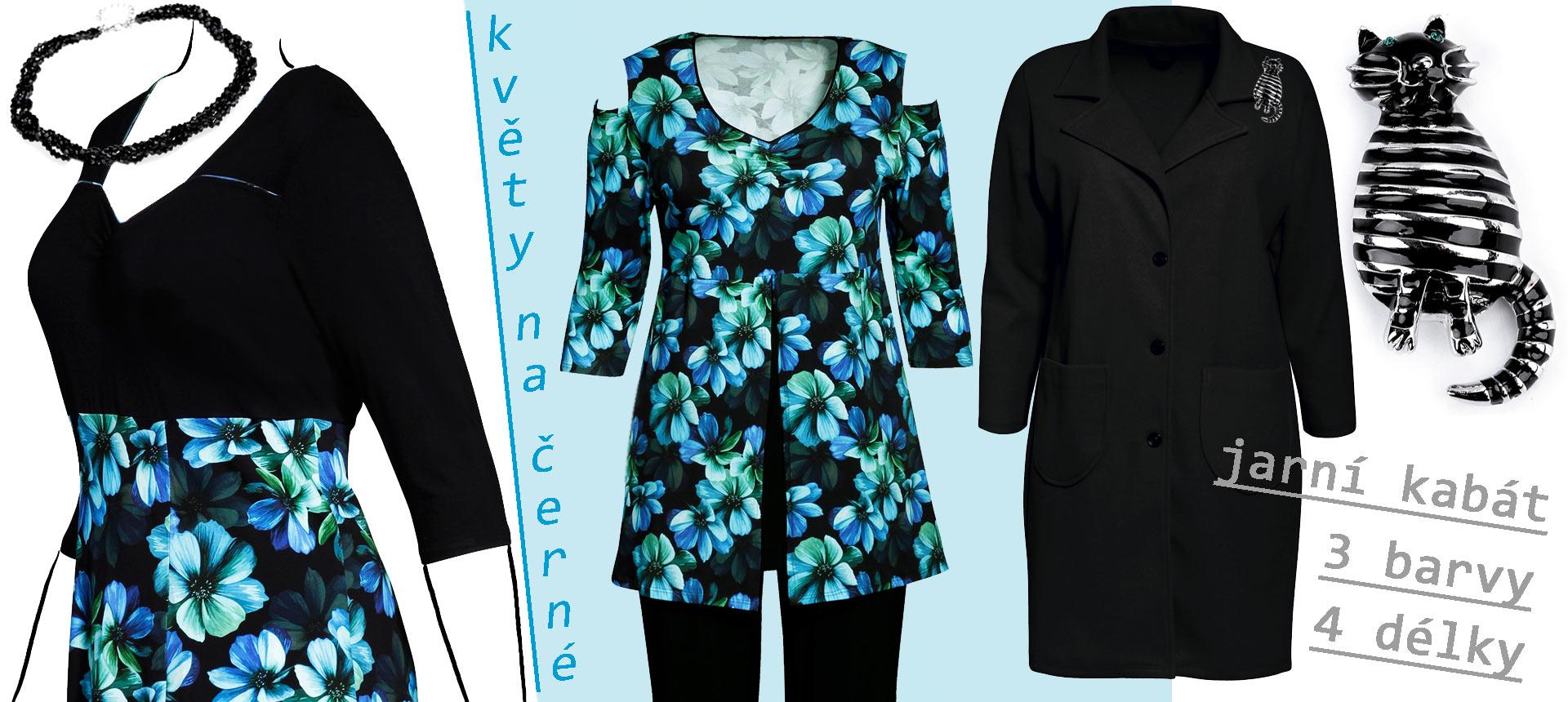 Modrozelený květ na bavlně2