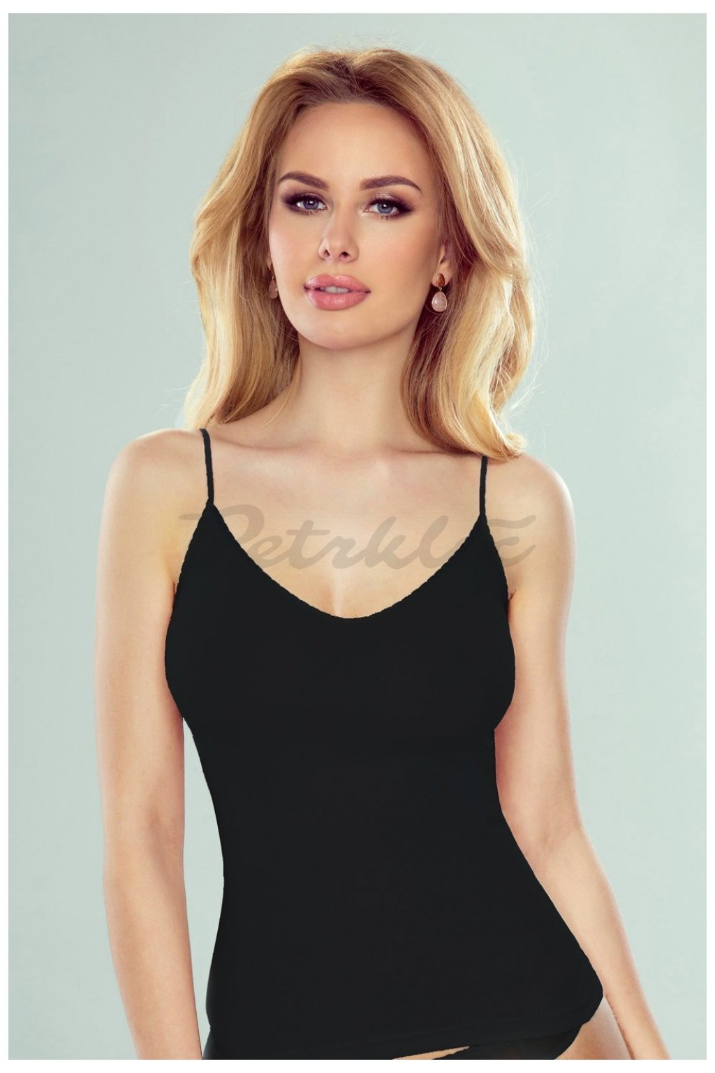 Černá košilka model 144073 Eldar