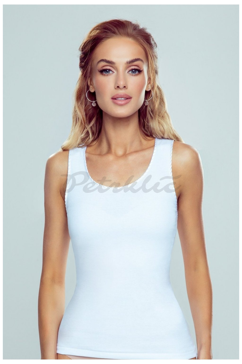 Bílá košilka model 144075 Eldar