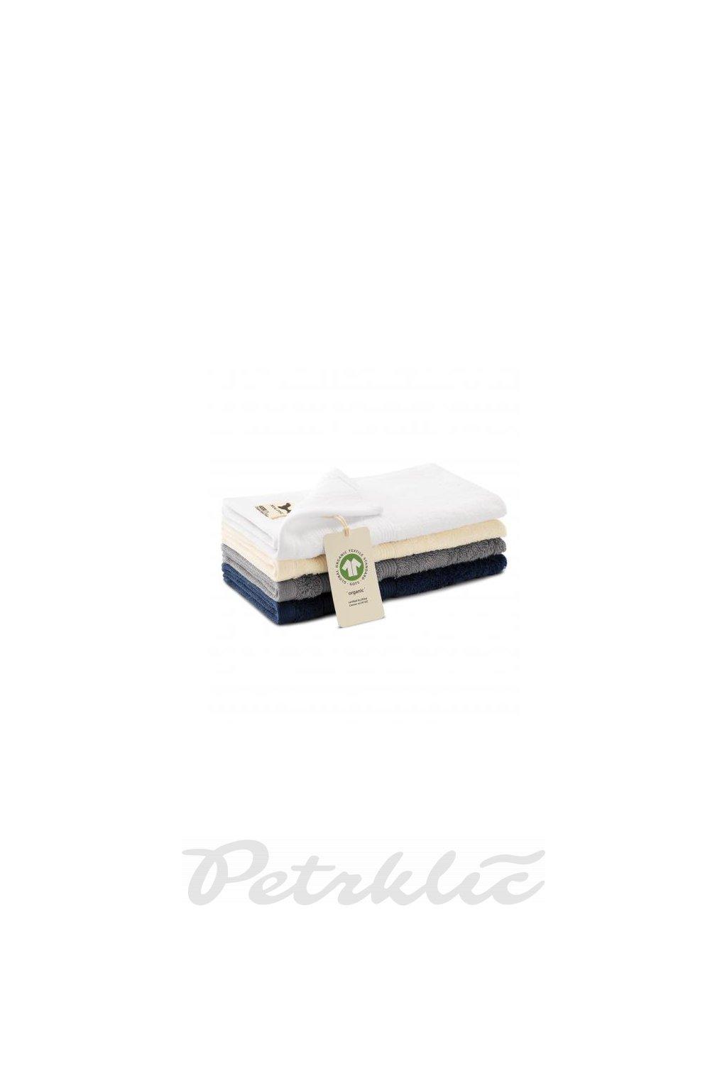 Malý froté ručník ze 100% organické bavlny Organic 916 450 g/m²