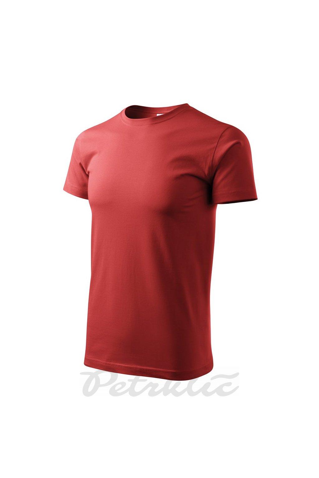 pánské tričko basic bordo