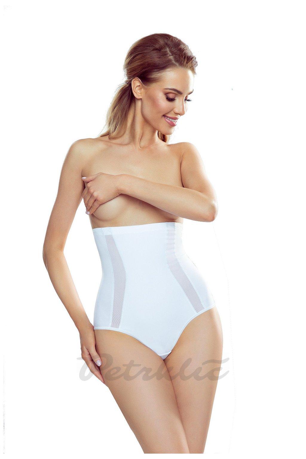 Vysoké zeštíhlující kalhotky v bílé barvě model 147375 Eldar