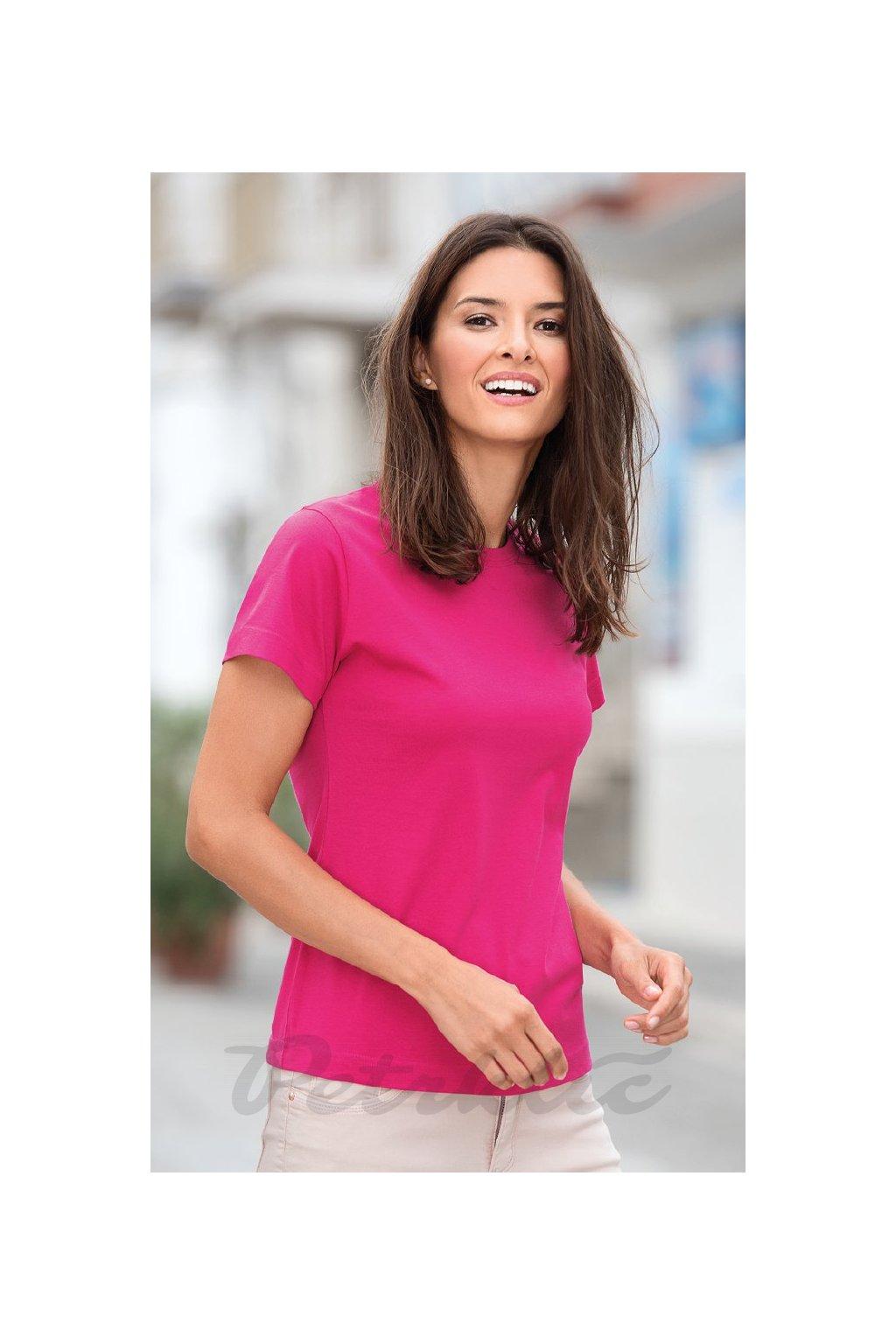 Dámské tričko Basic 100% bavlna
