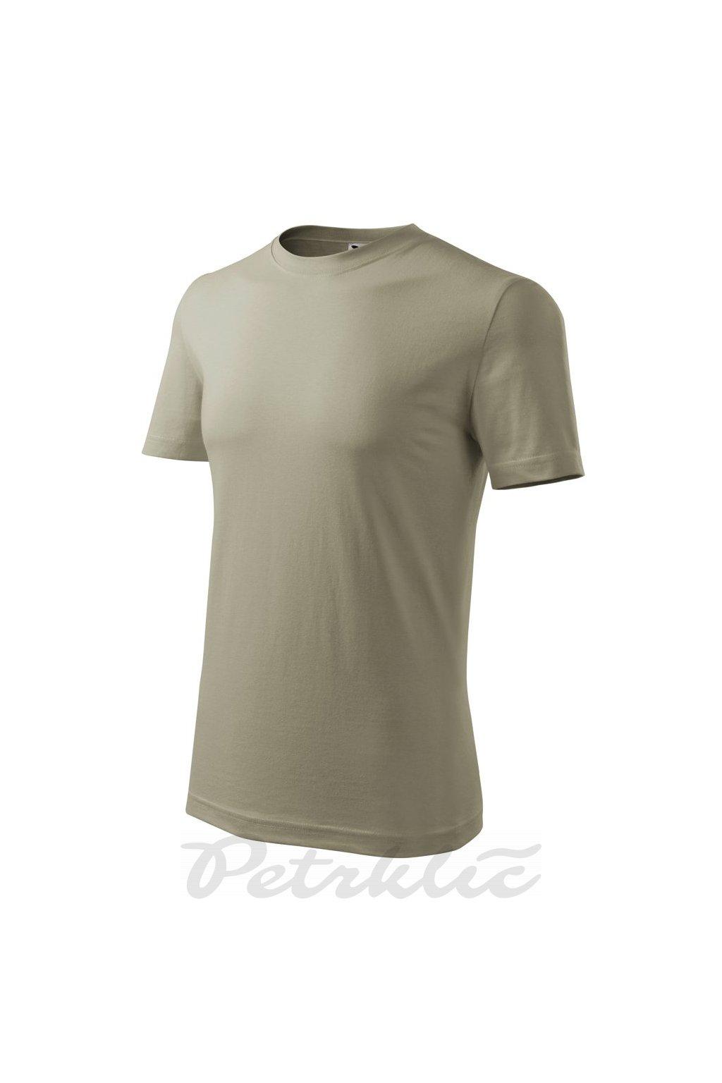 pánské tričko Classic New khaki