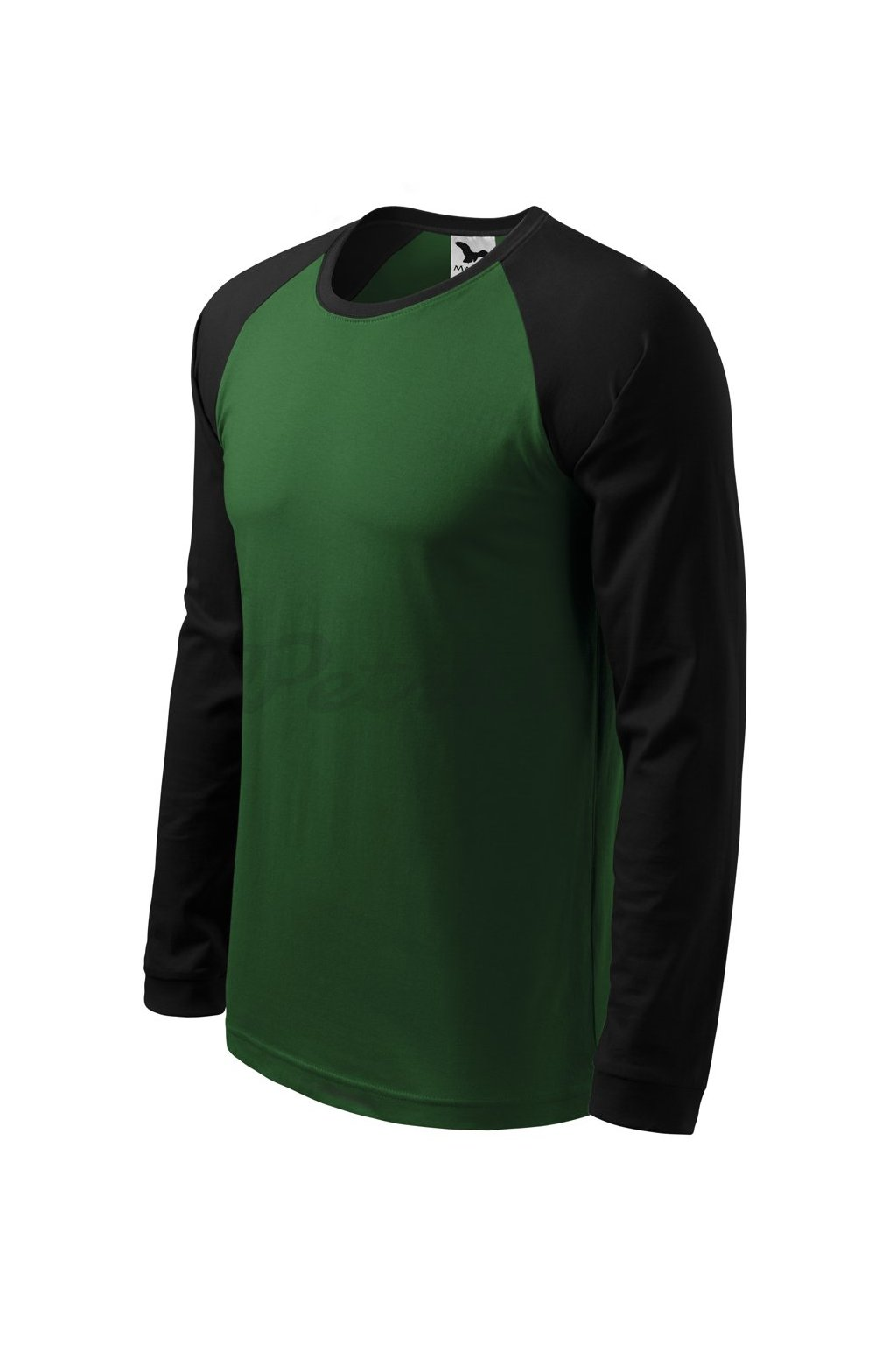 pánské triko s dlouhým rukávem street LS zelené