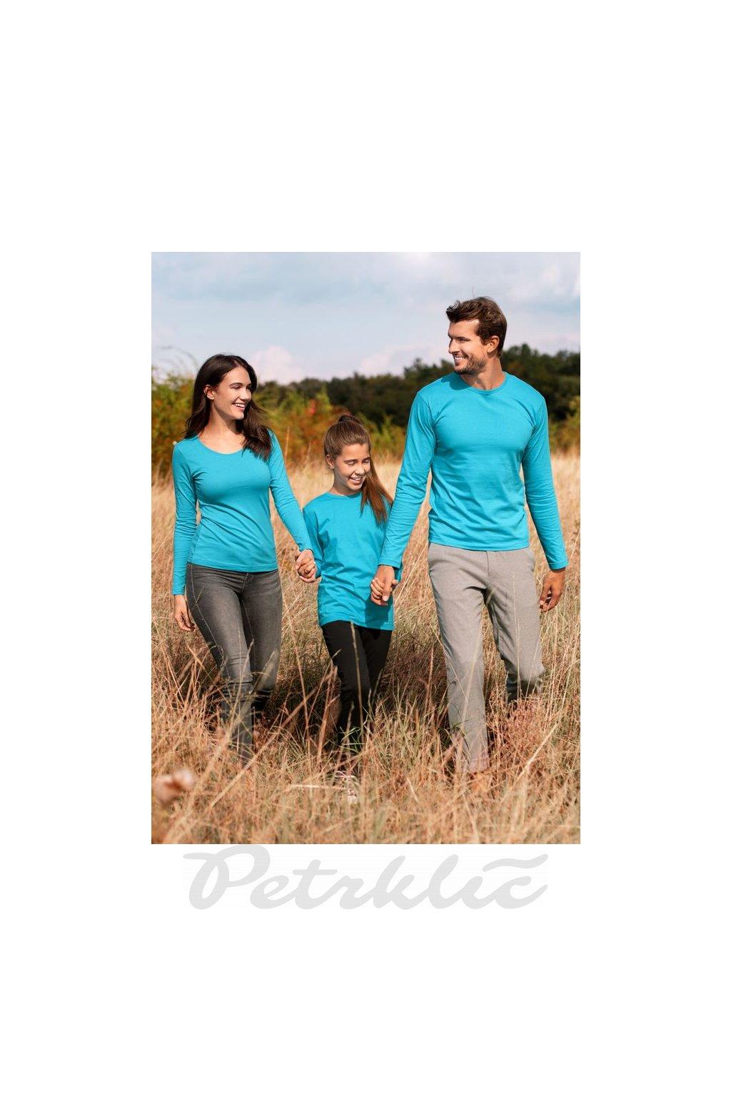 Dámské bavlněné tričko s dlouhým rukávem Fit T LS 169 m