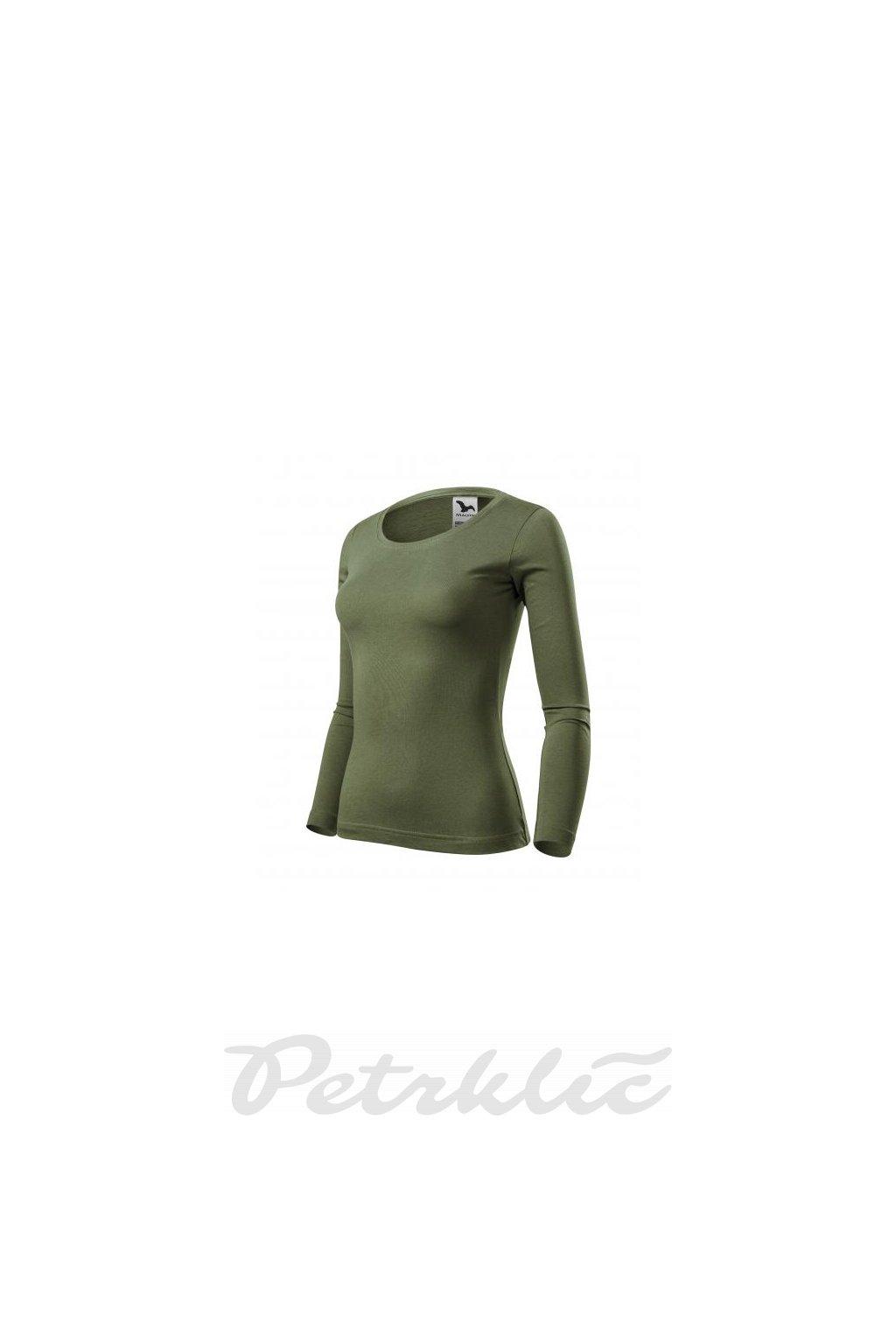 Dámské triko s dlouhými rukávy Fit-T LS 100% bavlna