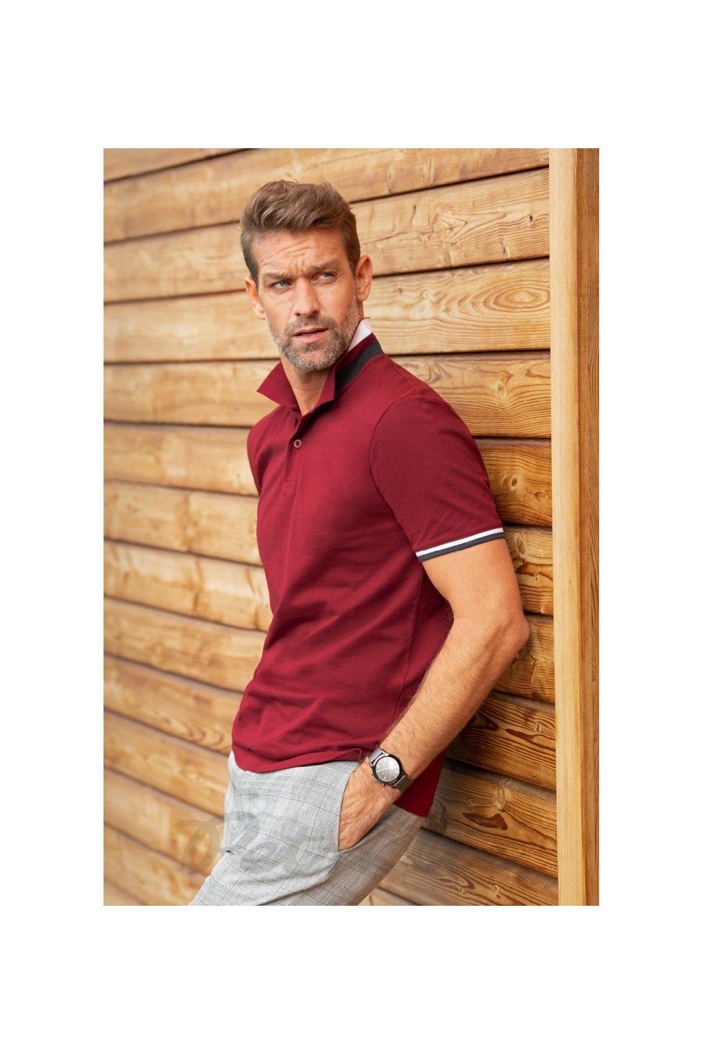 Collar up pánská polokošile