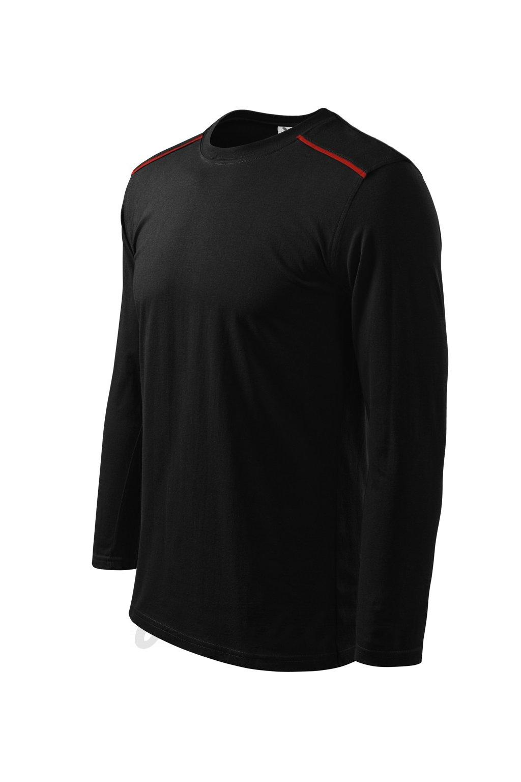 Triko s dlouhým rukávem Long Sleeve černé