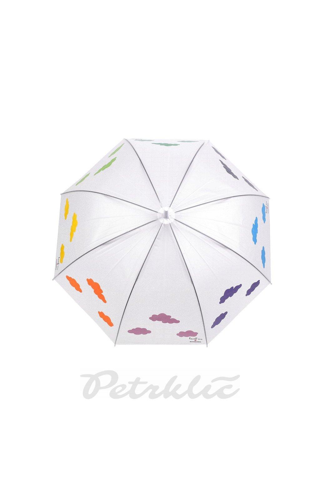 Holový vystřelovací deštník kouzelný s mraky L9530015