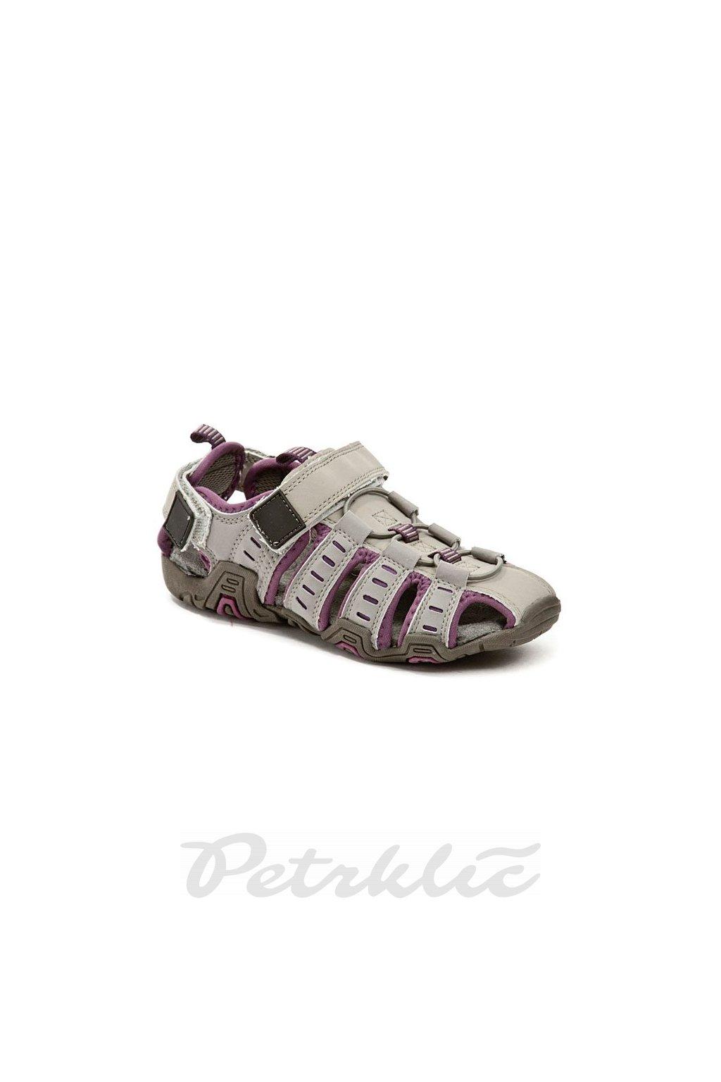 Juju Bee J0619e21 šedé dětské sandály