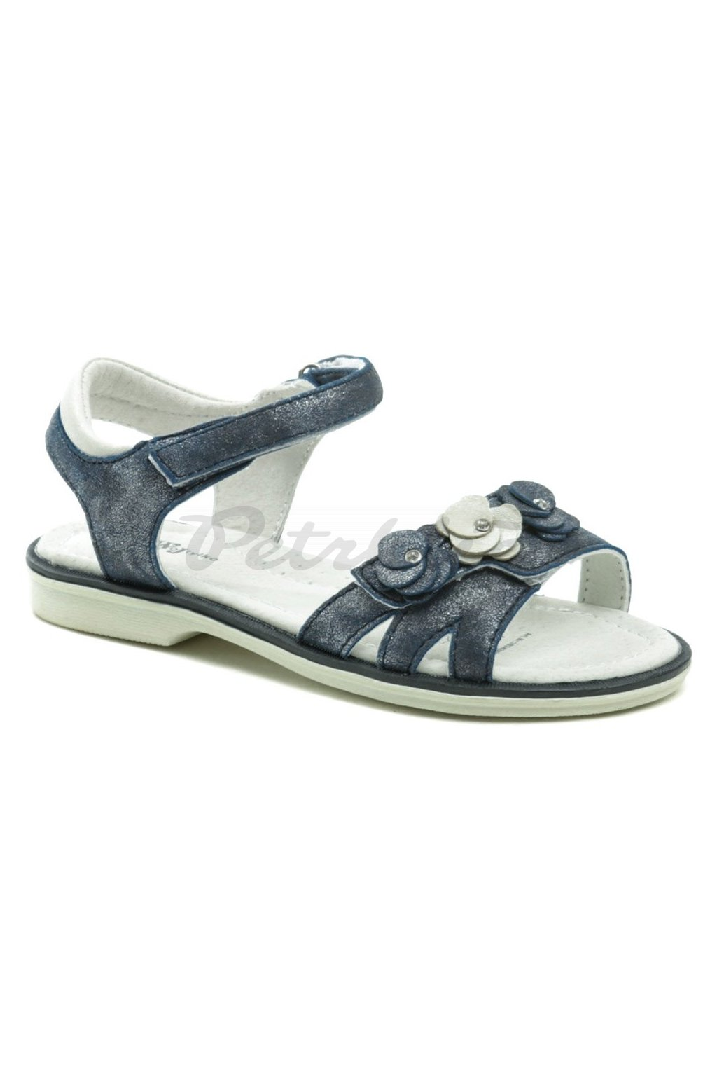 Wojtylko 3S2420 modré dívčí sandálky