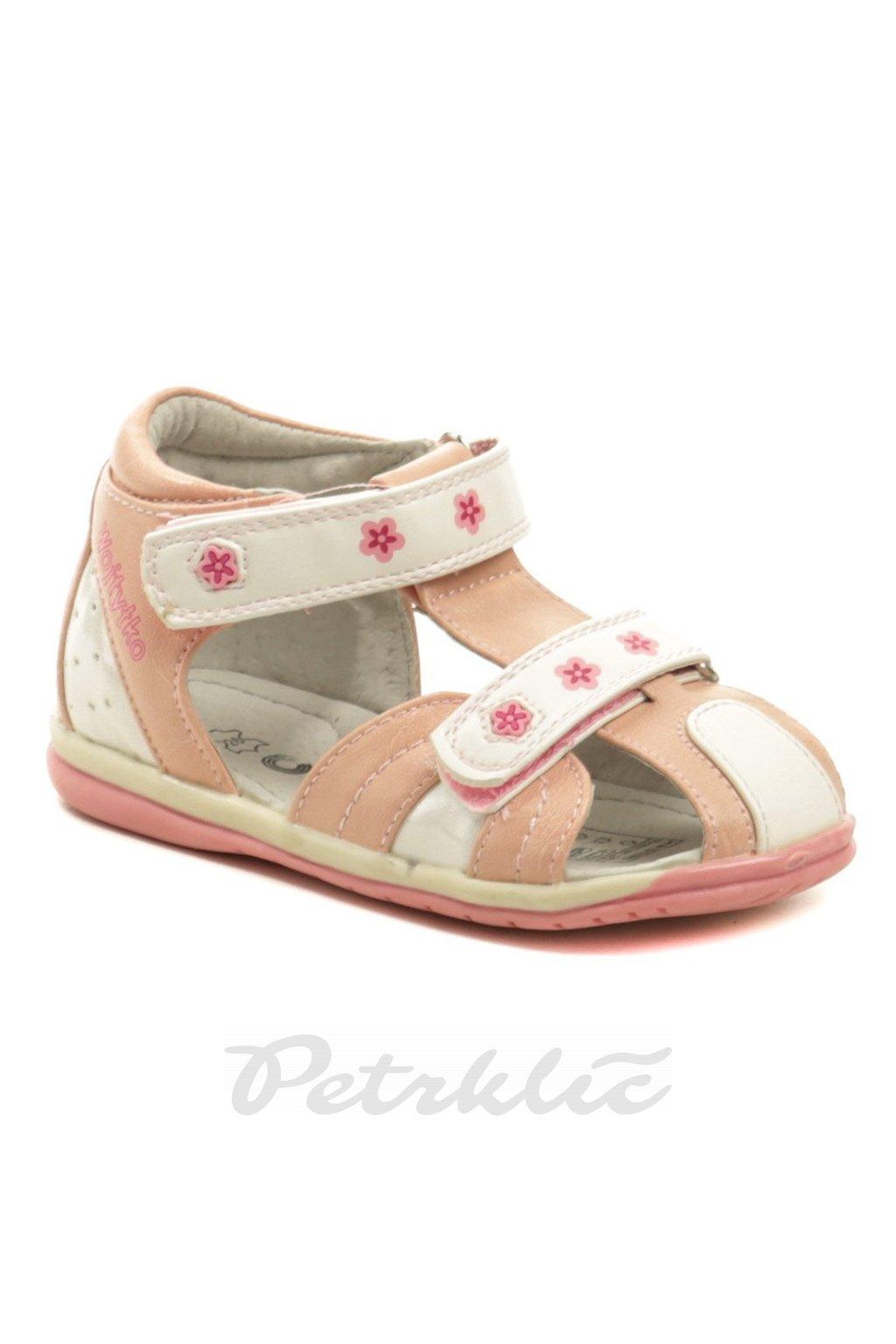 Wojtylko 2S1352 růžové dívčí sandálky