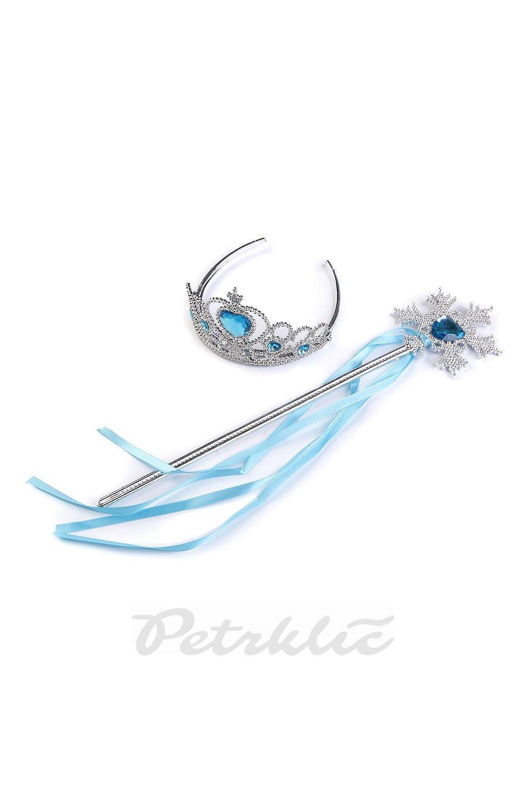 Karnevalová sada - korunka - ledová královna  L9780049