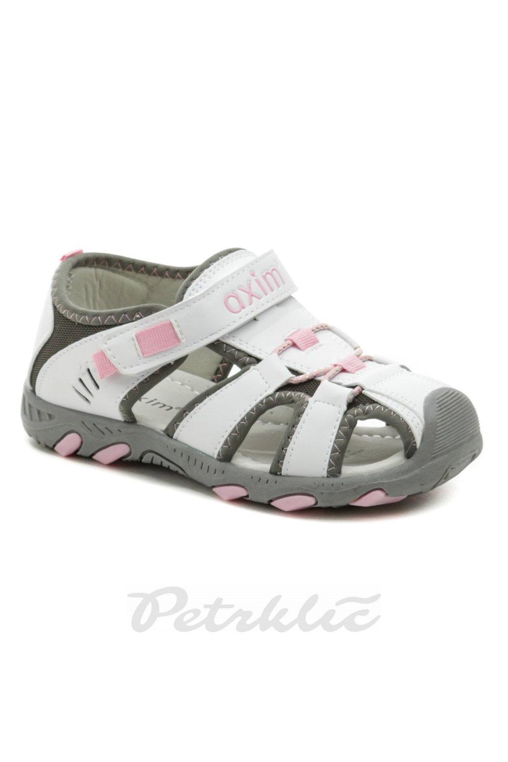 Axim 5S1116 bílé dětské sandály