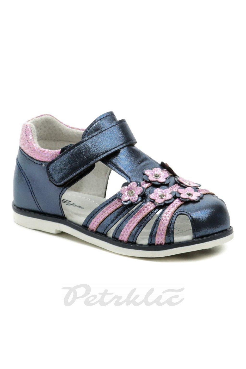 Wojtylko 2S41021 modro růžové sandálky