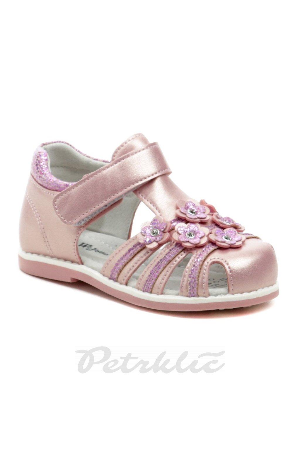 Wojtylko 2S41021 růžové sandálky