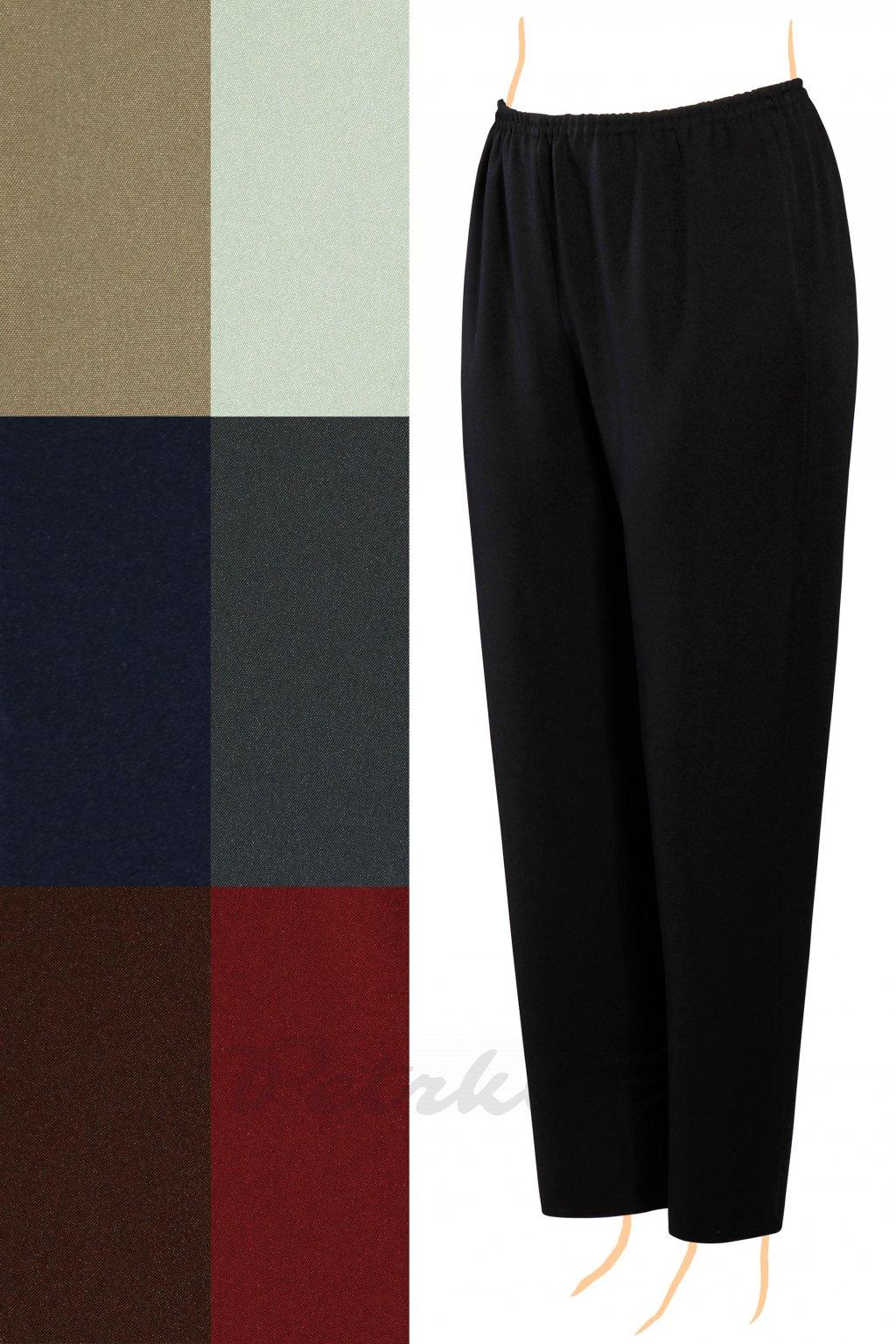 klasicke kalhoty velke velikosti ceska vyroba