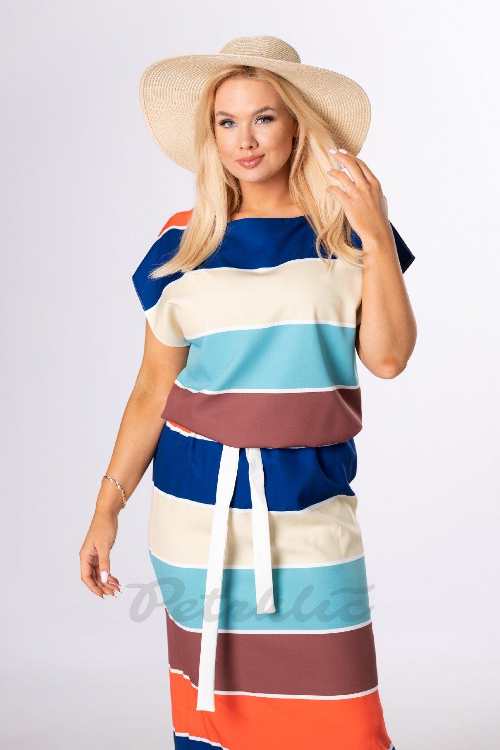 Letní maxi šaty QAI84259
