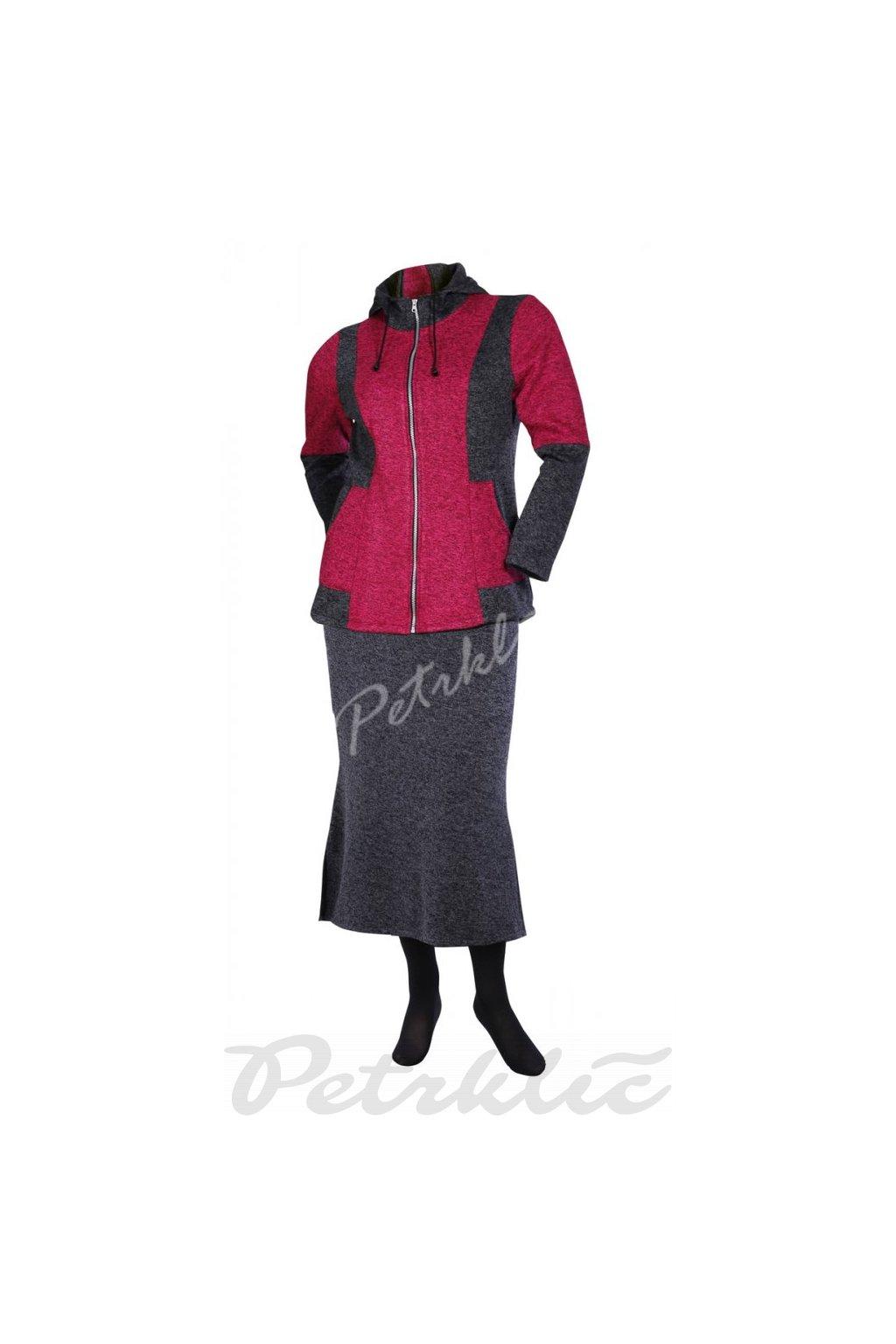 Fleecový kabátek s kapucí Mipleta