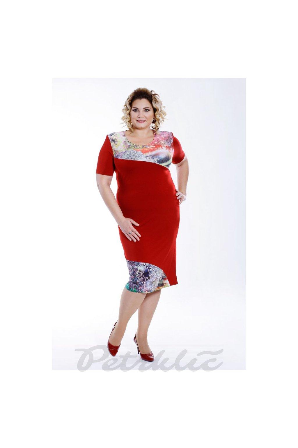 Šaty rovného střihu 120 cm
