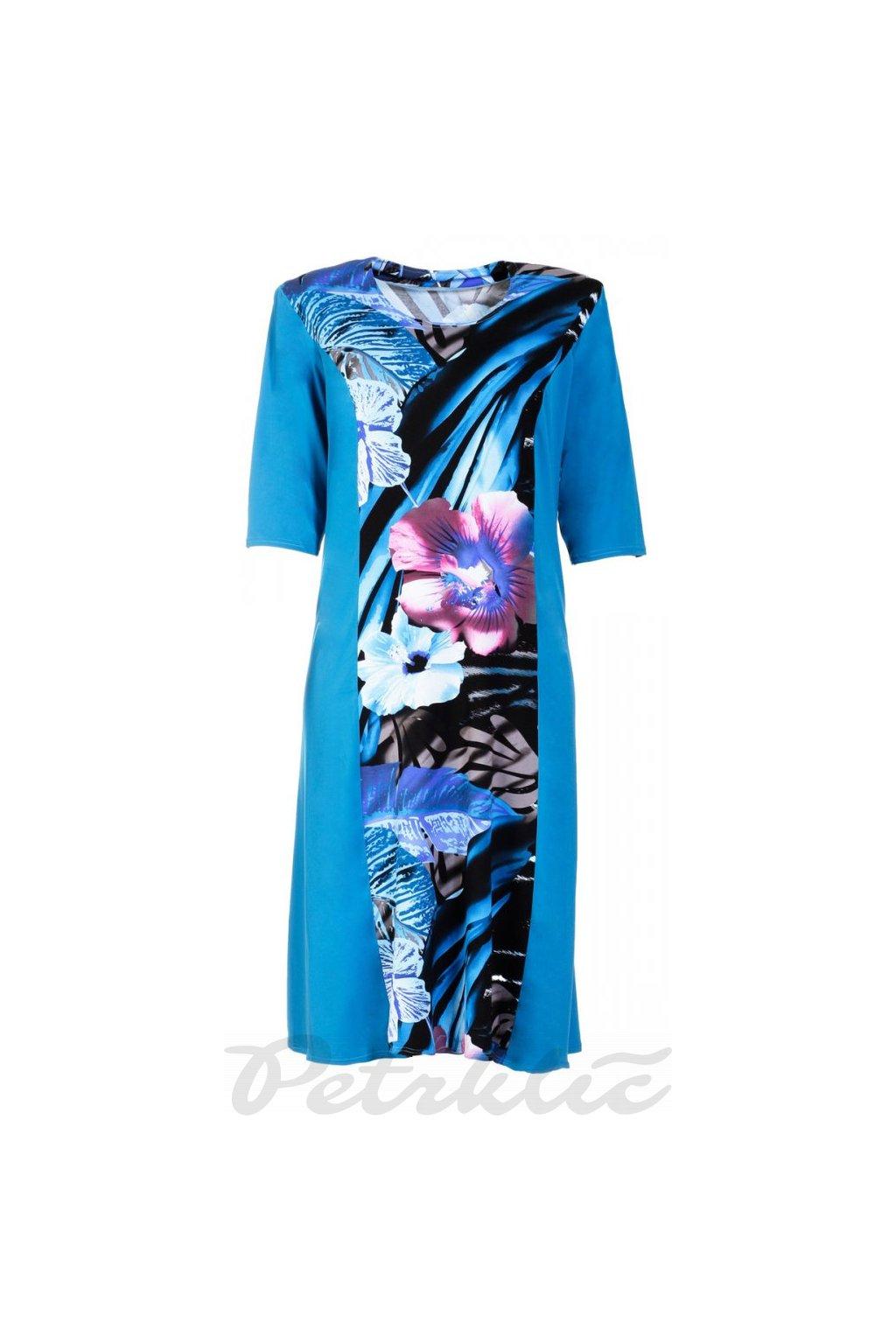 LILIANA modré šaty - 3 délky