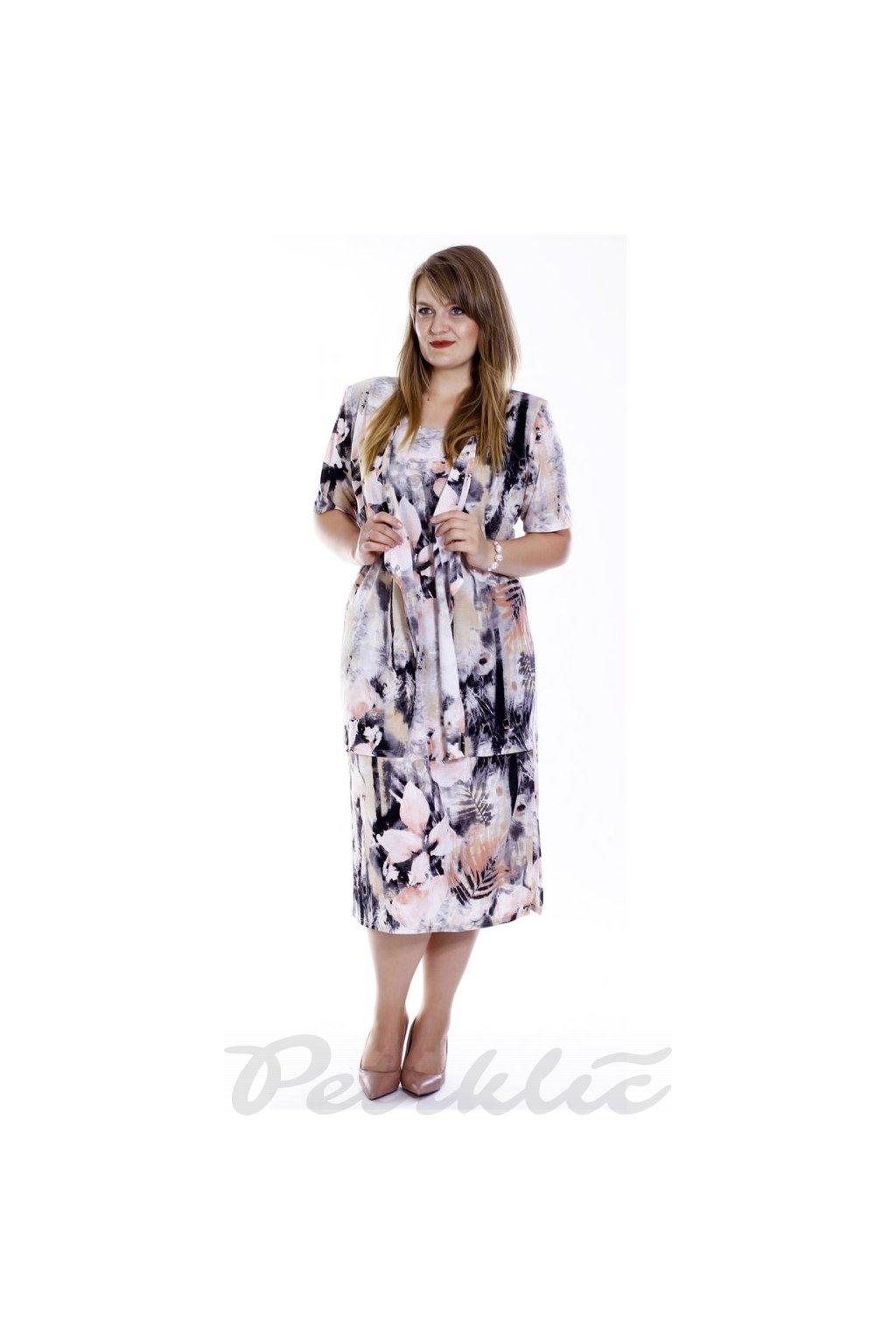 NORA - šaty s vestou 110 cm